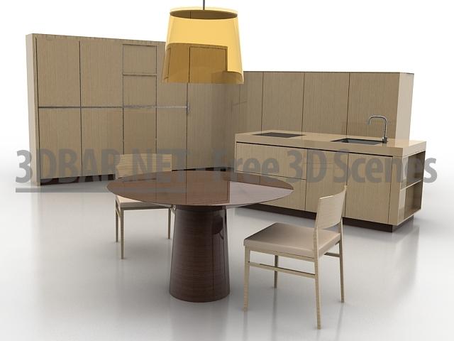 BoConcept Kitchen 3D Collection