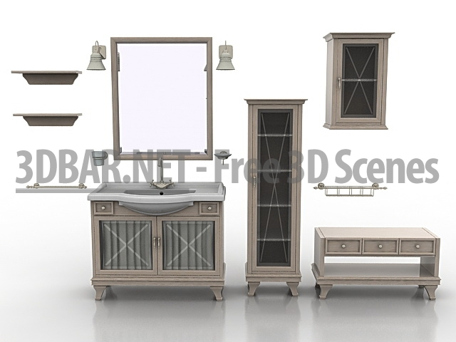 3D Bar – Free 3D Scenes 3D Models & 3D Collections