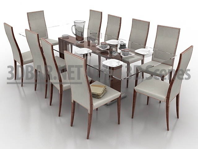 Cattelan  3D Bar   Free 3D Scenes  3D Models   3D Collections   DAILY Update  . Monaco Dining Table Cattelan Italia. Home Design Ideas