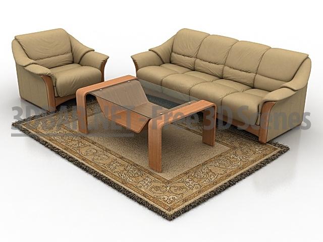 3d bar free 3d scenes 3d models 3d collections daily update sofa ekornes oslo. Black Bedroom Furniture Sets. Home Design Ideas