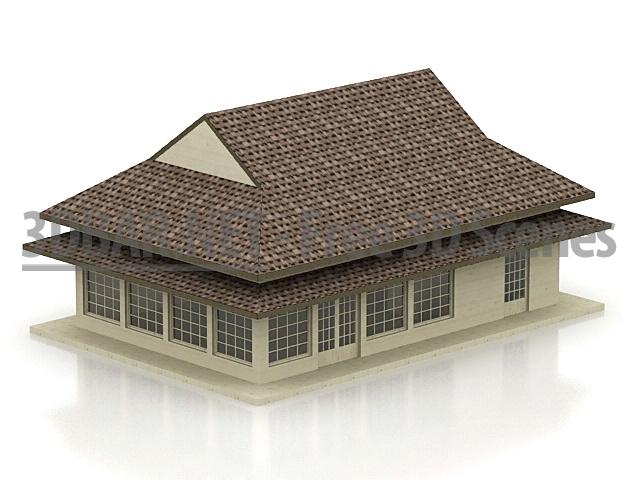 japanese house 3d models - Home 3d Model