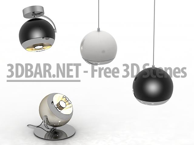 3d bar free 3d scenes 3d models 3d collections daily update light slv light eye. Black Bedroom Furniture Sets. Home Design Ideas