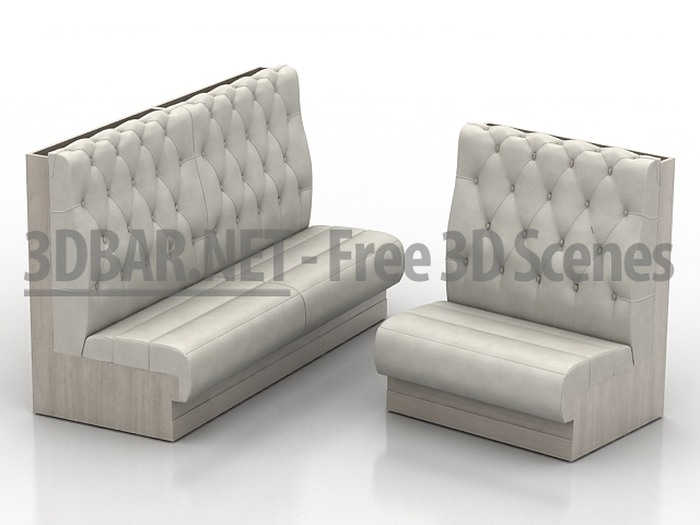 3d bar free 3d scenes 3d models 3d collections for Sofa 3d model