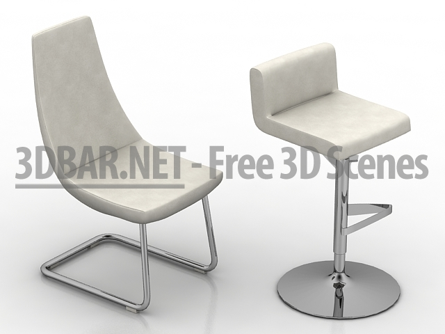 3d bar free 3d scenes 3d models 3d collections daily update armchair. Black Bedroom Furniture Sets. Home Design Ideas