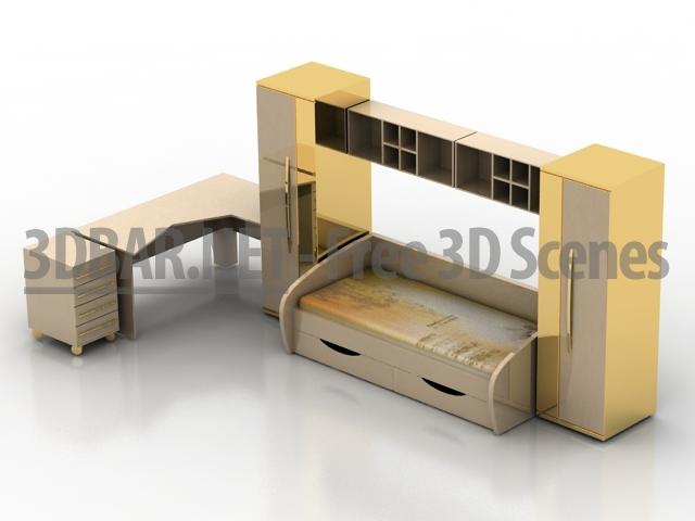 3d Bar Free 3d Scenes 3d Models 3d Collections